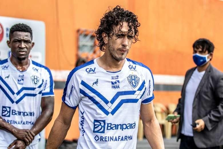 Imagem ilustrativa da notícia: Nicolas chega aos 80 dias sem gols no Paysandu: por quê?