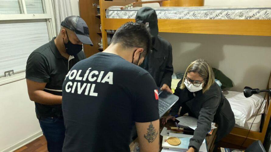 Suspeitos foram presos em São Paulo, durante operação  com  agentes da Polícia Civil do Pará.