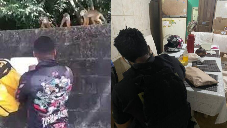 O animal não foi encontrado na residência do alvo da operação realizada pela Polícia Federal hoje.