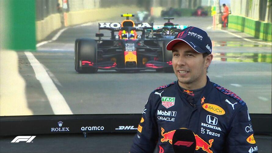 """Imagem ilustrativa da notícia: Sergio Pérez vence """"corrida maluca"""" na Fórmula 1"""