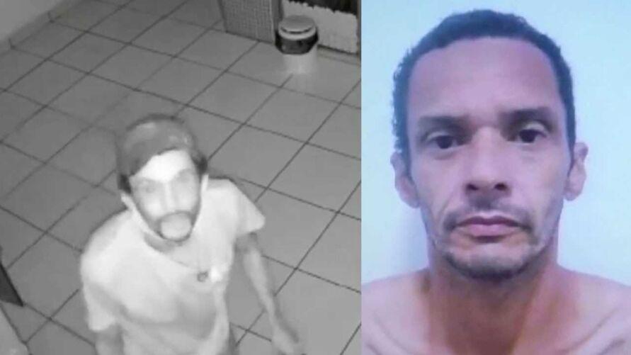 """""""Macarrão"""" foi preso em flagrante. Ele, inclusive, já tem mais de 10 passagens pela polícia por furto, a maioria de pet shop."""