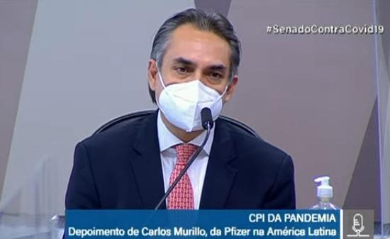 Carlos Murillo gerente-geral da Pfizer na América Latina