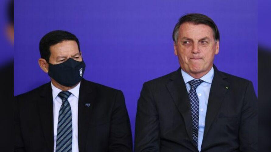Nova portaria permitirá aumento nos salários do presidente Jair Bolsonaro (sem partido) e do vice-presidente Hamilton Mourão.