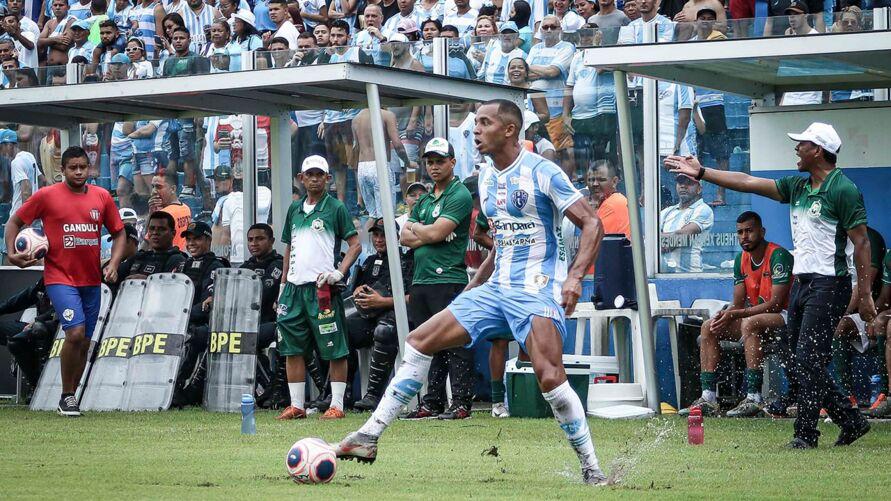 Deivid Souza atuou pelo Paysandu em 2020 e marcou apenas 1 gol.