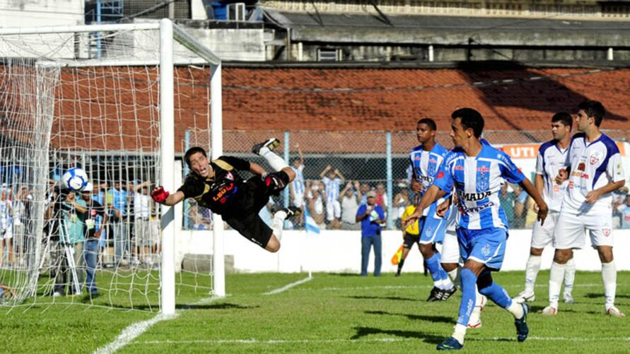Paysandu virou sobre o Águia em 2010 e foi campeão. A história irá se repetir diante de outra Águia, a do Souza?