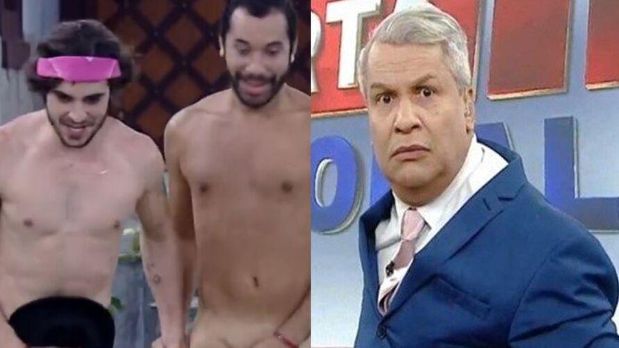 Sikêra Jr  foi considerado homofóbico ao comentar sobre beijo entre Fiuk e Gil no BBB21.