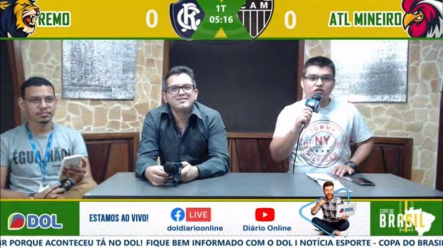 Imagem ilustrativa da notícia: Tem jogo no DOL: Atlético-MG 2 x 1 Clube do Remo