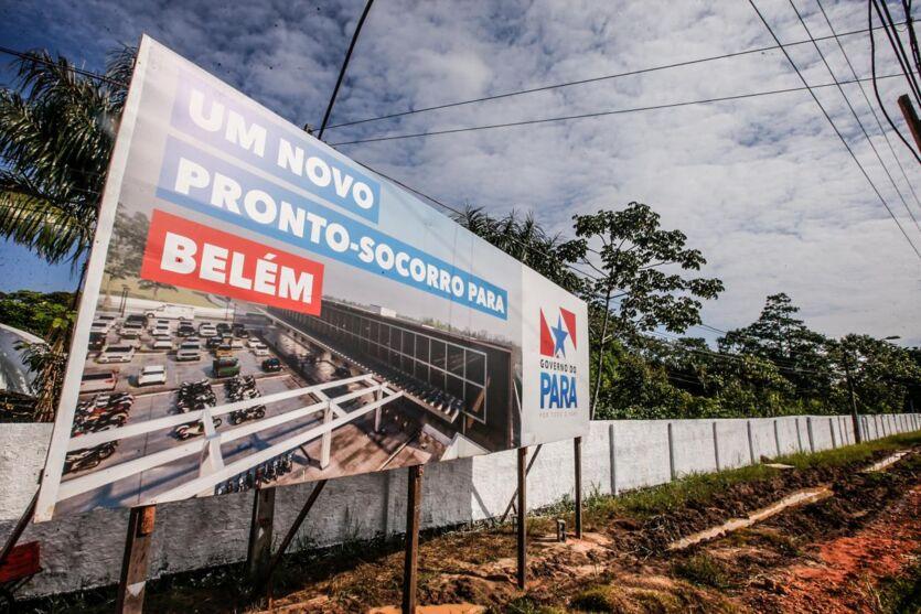 Unidade hospitalar será construída na avenida Augusto Montenegro, com 110 leitos para atendimentos em urgência e emergência na Região Metropolitana