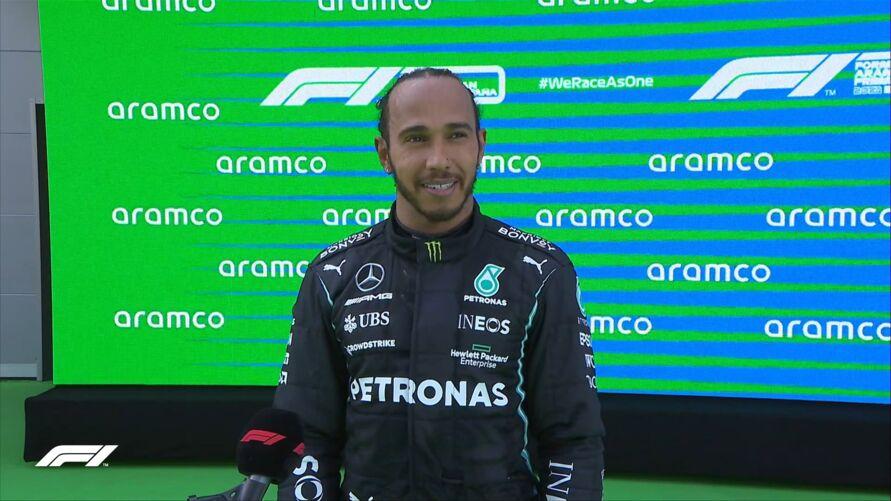 Imagem ilustrativa da notícia: Hamilton vence GP da Espanha e segue na liderança da F1
