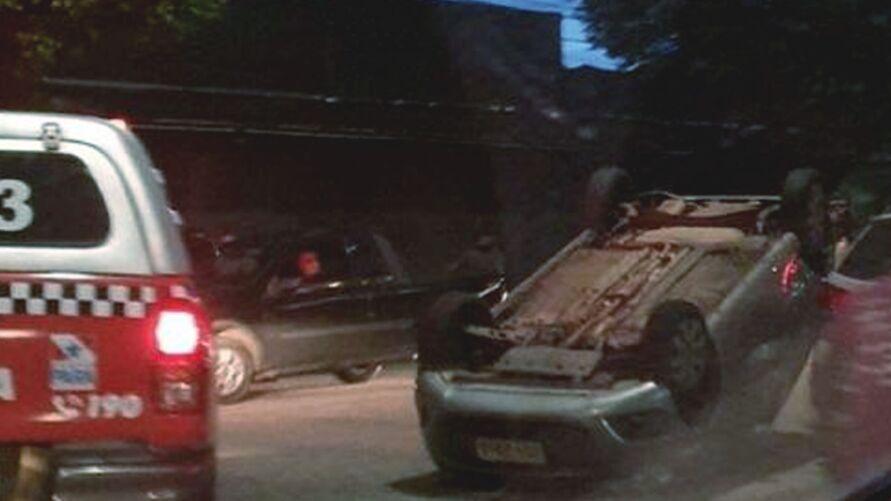 Acidente foi registrado na avenida 25 de Setembro, no bairro do Marco