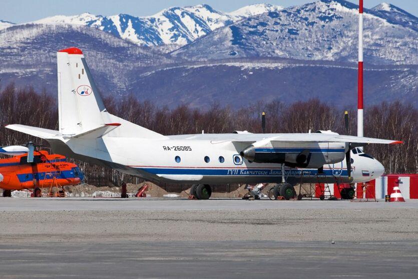 Modelo de Antonov An-26 que caiu na Rússia