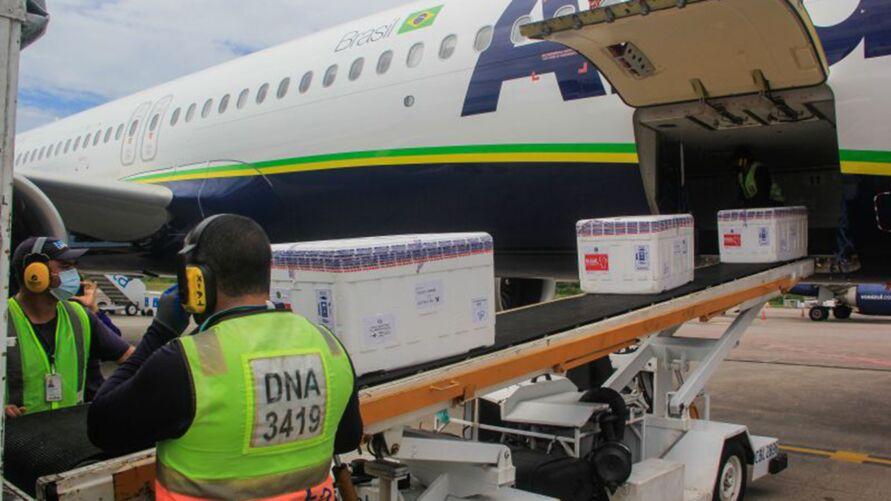 Imagem ilustrativa da notícia: Pará recebe 162.500 mil doses de Oxford/Astrazeneca