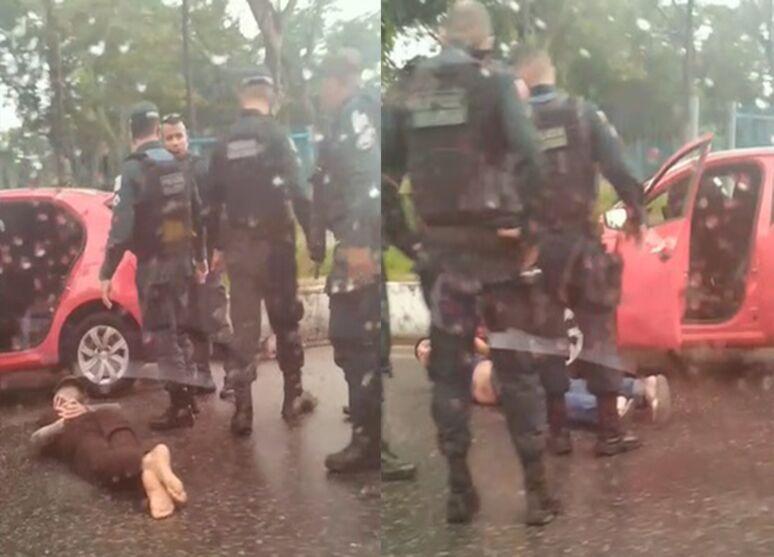 Imagem ilustrativa da notícia: Sexta-feira 13: um morre e dois são presos em assalto