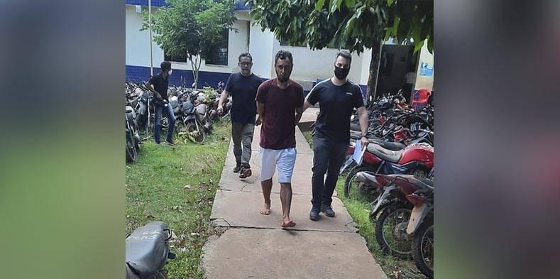 Jardel Oliveira da Silva foi preso em flagrante