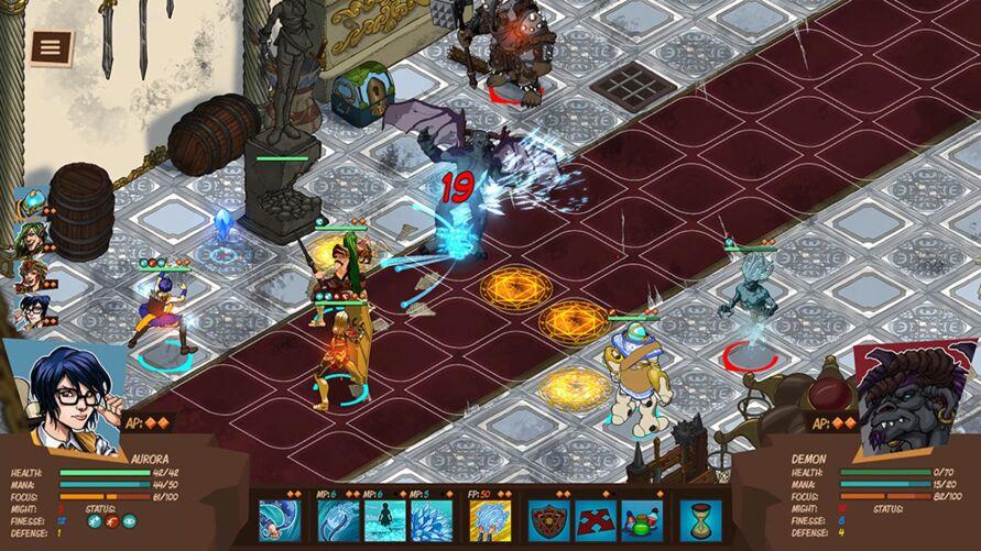 Imagem ilustrativa da notícia: Game nacional do universo 'Tormenta' ganha demo na Steam