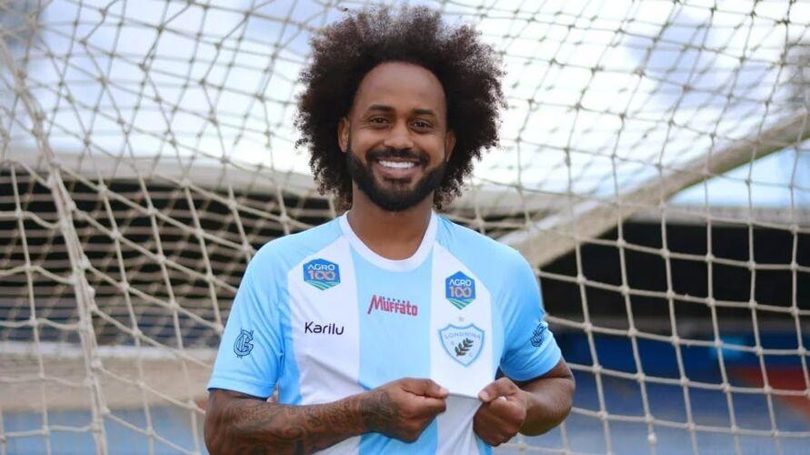 Celsinho atuou no Papão no ano de 2016 e hoje está no Londrina.