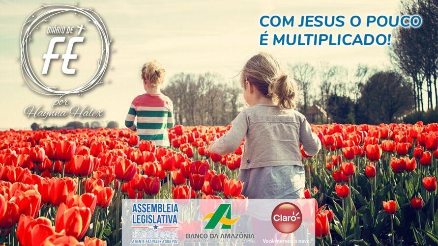 Imagem ilustrativa do podcast: Dolcast: Com Jesus o pouco é multiplicado
