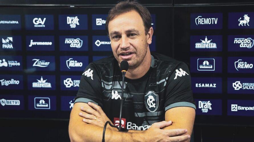 Jurídico do Clube do Remo entrará com efeito suspensivo na CBF em favor do técnico Felipe Conceição.