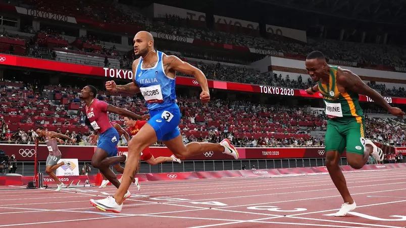 Italiano marcou 9,80 segundos e levou o primeiro ouro da história da Itália no atletismo.