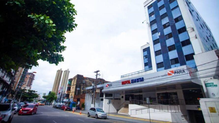 Hospital Jean Bitar na rua Jerônimo Pimentel, no bairro do Umarizal, em Belém, será referência em cirurgias de otorrinolaringologia.