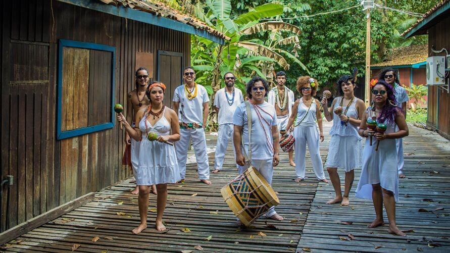 Nação Ogan conecta moradores às raízes africanas e indígenas da nossa Amazônia.