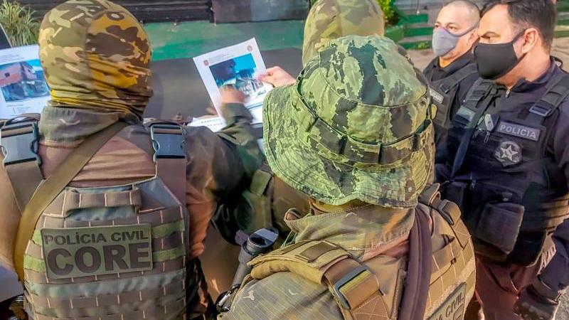 Operação combate o crime organizado,  responsável pelos crimes de homicídio e tentativas contra agentes de segurança pública do Pará
