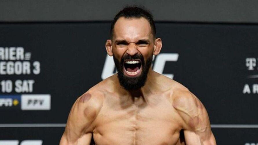 Michel Pereira espera vencer no UFC e subir no ranking