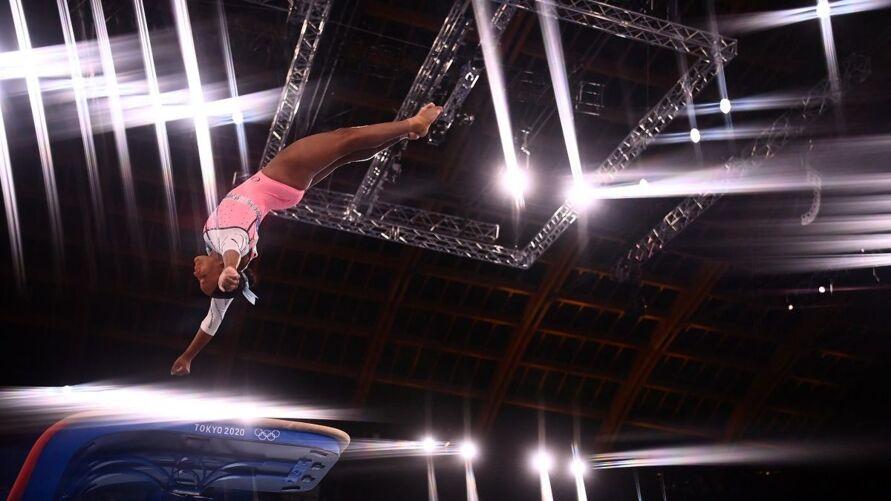 Salto de Rebeca Andrade somou maior média nas Olimpíadas de Tóquio
