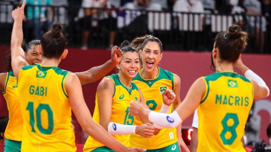 Brasil bate Coreia e está na final olímpica do vôlei feminino