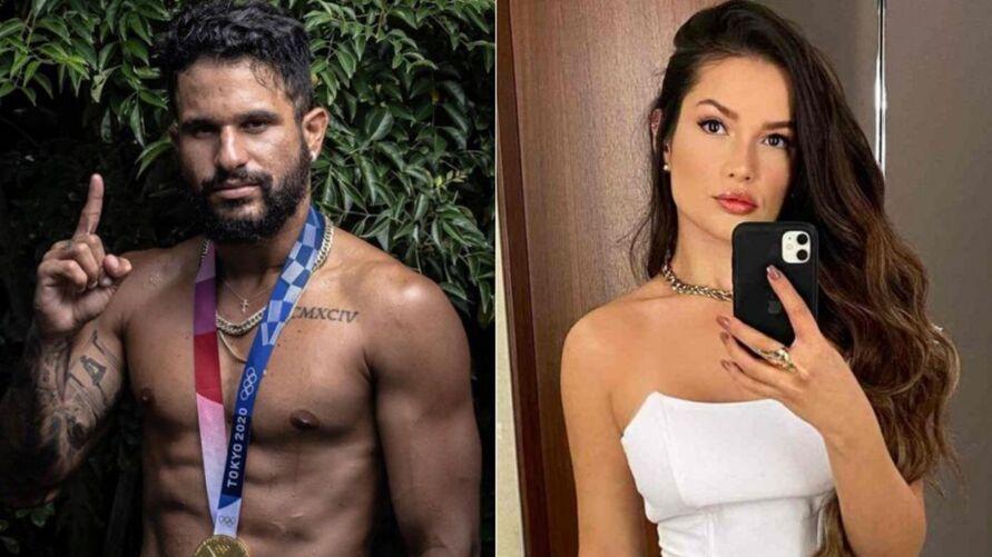 """Internautas """"shipam"""" Juliette e Ítalo Ferreira após Tuíte da ex-bbb."""