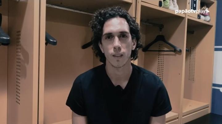 Nicolas não conteve a emoção ao se despedir da torcida Bicolor