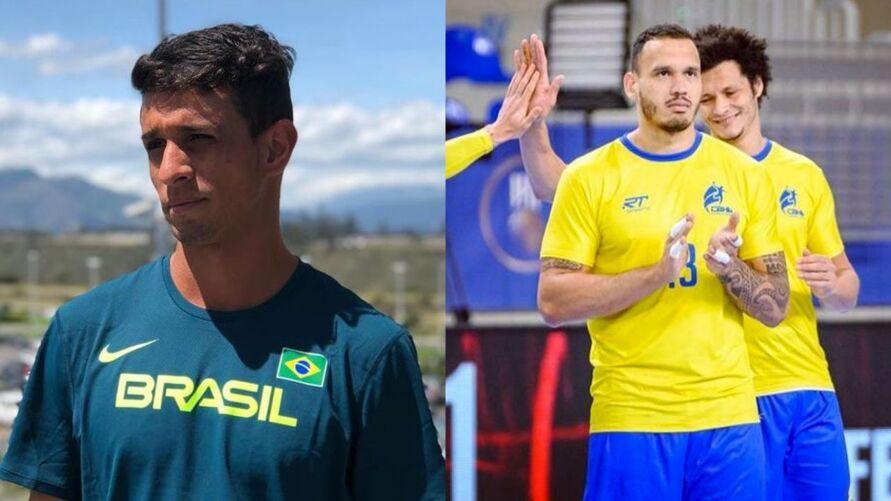 Lucas e Rogério são representantes no Pará em Tóquio 2020.