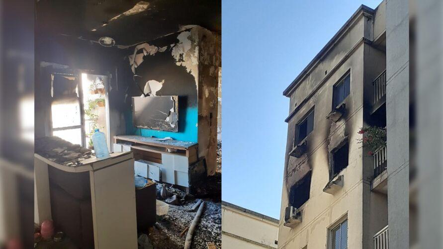 Imagem ilustrativa da notícia: Moradora diz que fogo no colchão provocou incêndio