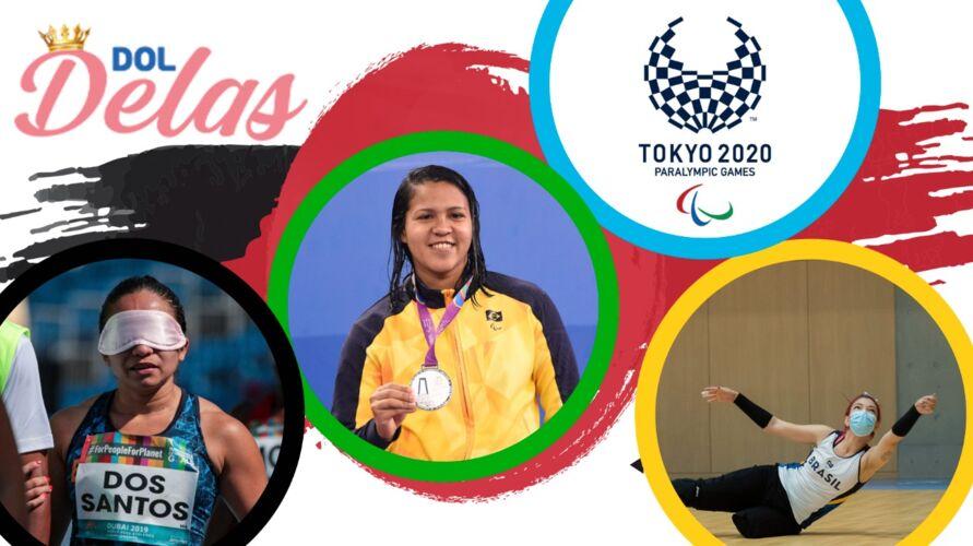 Jhulia, Lucilene e Bruna é o Pará nos Jogos.