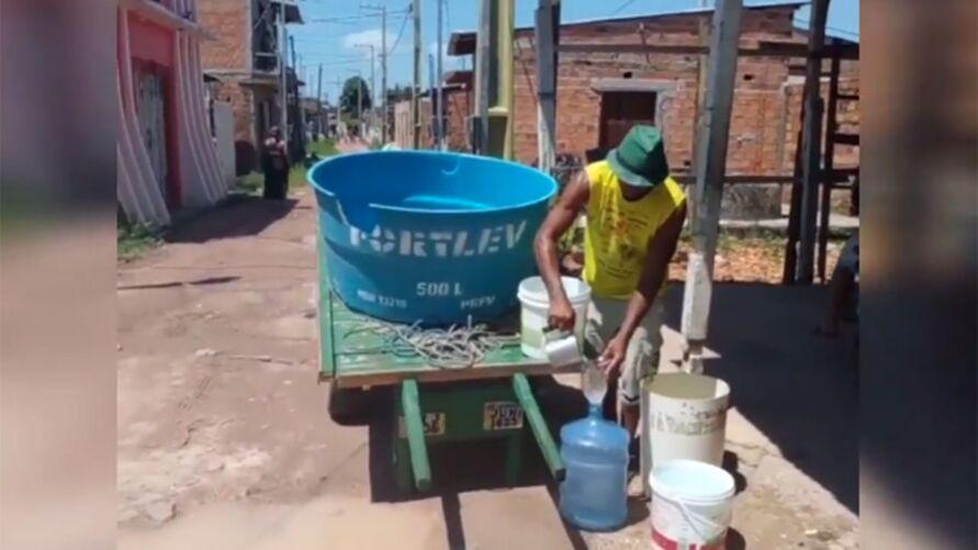 Imagem ilustrativa da notícia: Moradores de Outeiro sofrem com escassez de água