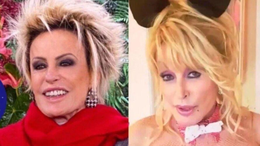 Ana Maria Braga foi comparada com Dolly Parton, ex-capa da Playboy.