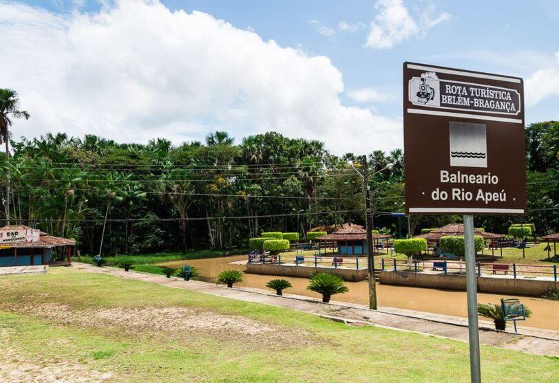 Distrito é conhecido por seus belos igarapés.
