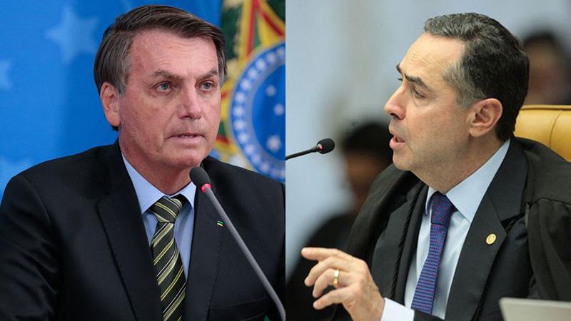 """Bolsonaro acusou as eleições de 2014 de fraude e chamou Barroso de """"idiota"""""""