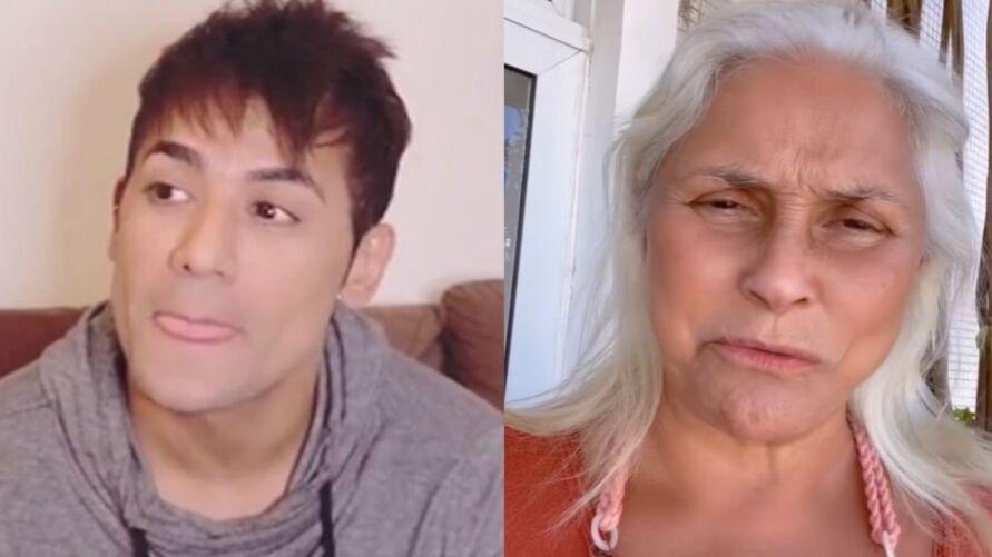 Cantora criticou o artista comentando em uma publicação no Instagram e ele revidou