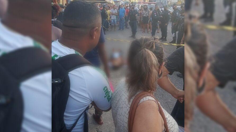 Imagem ilustrativa da notícia: Vendedor morre baleado em frente a shopping em Belém