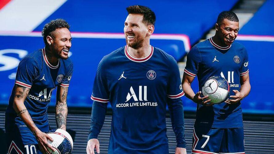 O jogo de hoje pode ser a única chance de acompanhar Messi, Neymar e Mbappé juntos, já que o craque francês pode ir para o Real Madrid nos próximos dias.