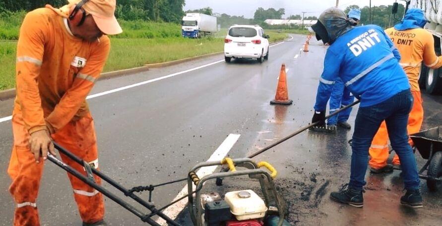Imagem ilustrativa da notícia: DNIT interdita BR-316 em Castanhal nesta sexta-feira
