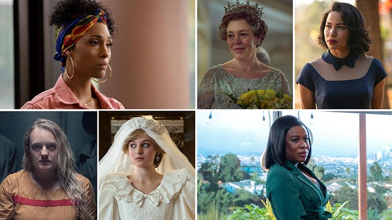 Algumas das atrizes indicadas ao Emmy