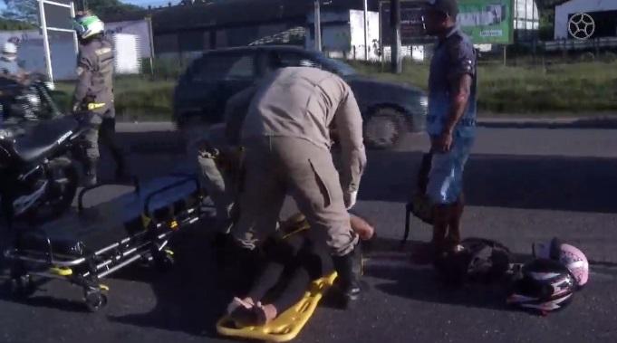 Imagem ilustrativa da notícia: Acidente grave na saída de Belém complica trânsito na BR-316