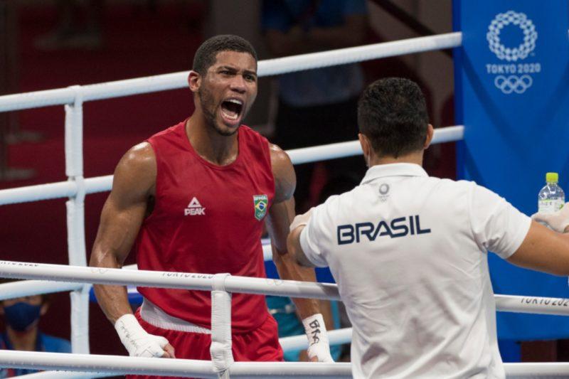 Hebert Conceição garante ao menos o bronze para o Brasil