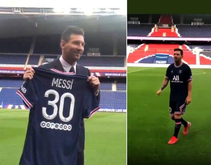 Imagem ilustrativa da notícia: É oficial: argentino Lionel Messi agora é do francês PSG