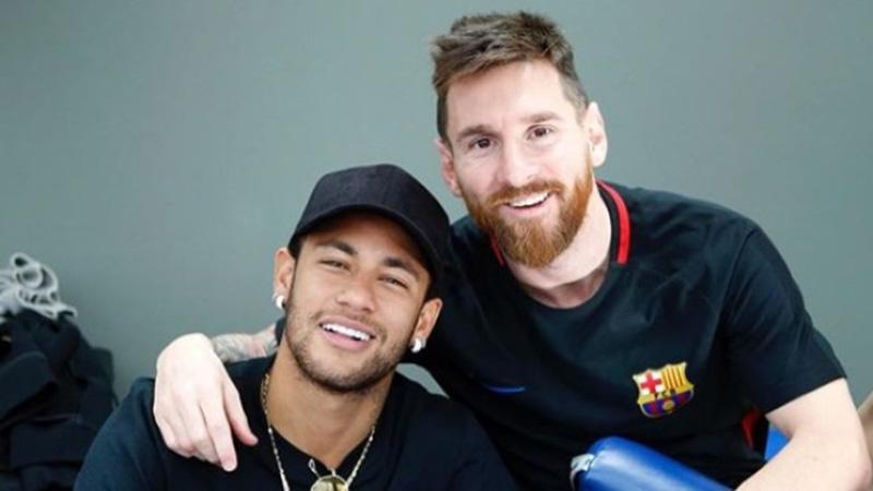 Amigos, Neymar e Messi estarão em lados opostos em busca do título da copa América para Brasil e Argentina