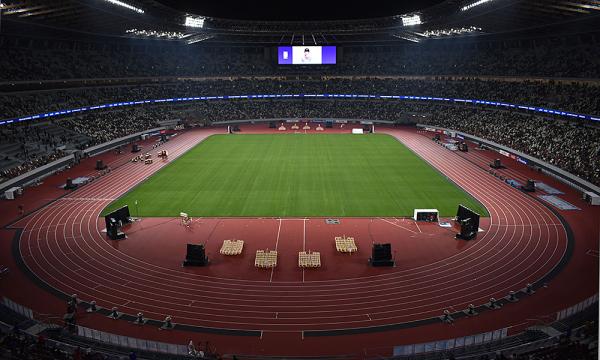 Estádio Olímpico de Tóquio será o palco da cerimônia de abertura.