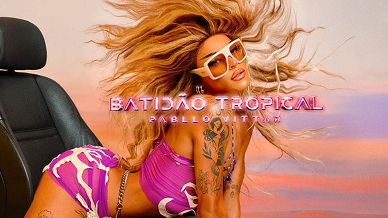 Capa de Batidão Tropical, de Pabllo Vittar