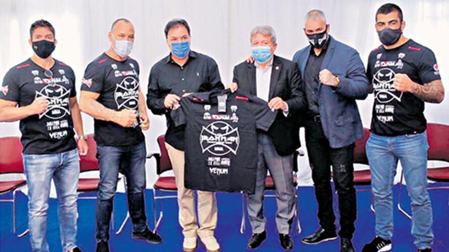 Imagem ilustrativa da notícia: Pará sedia apresentação do Iron Man Championship Fight